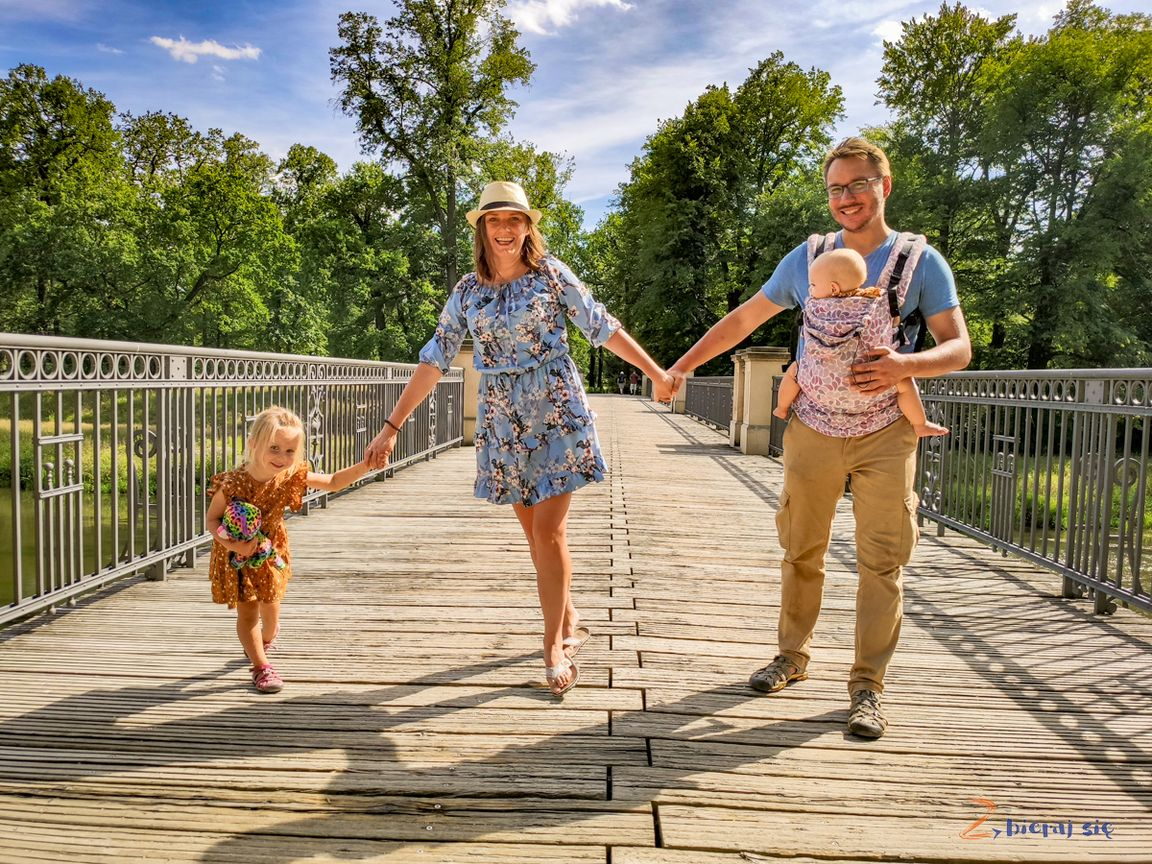 Park Mużakowski Most Angielski, lipiec 2019