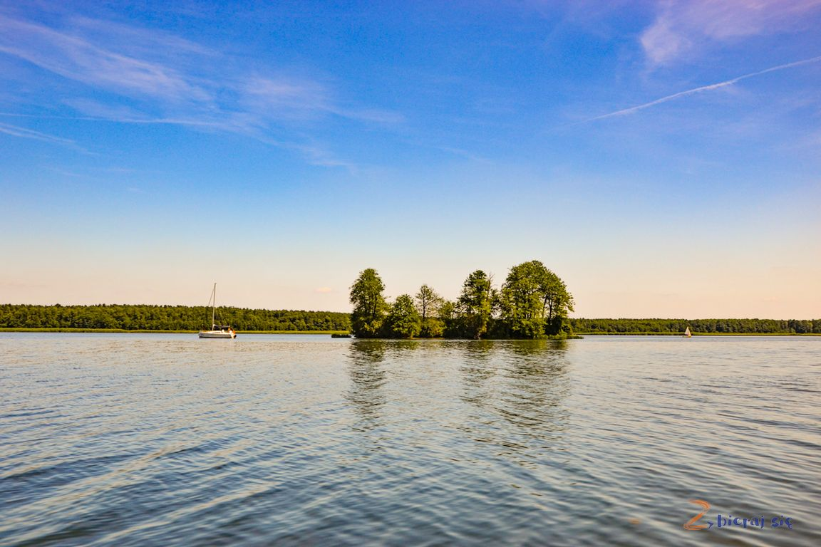 Lubuskie Jeziora_ Jezioro Sławskie iPtasia Wyspa