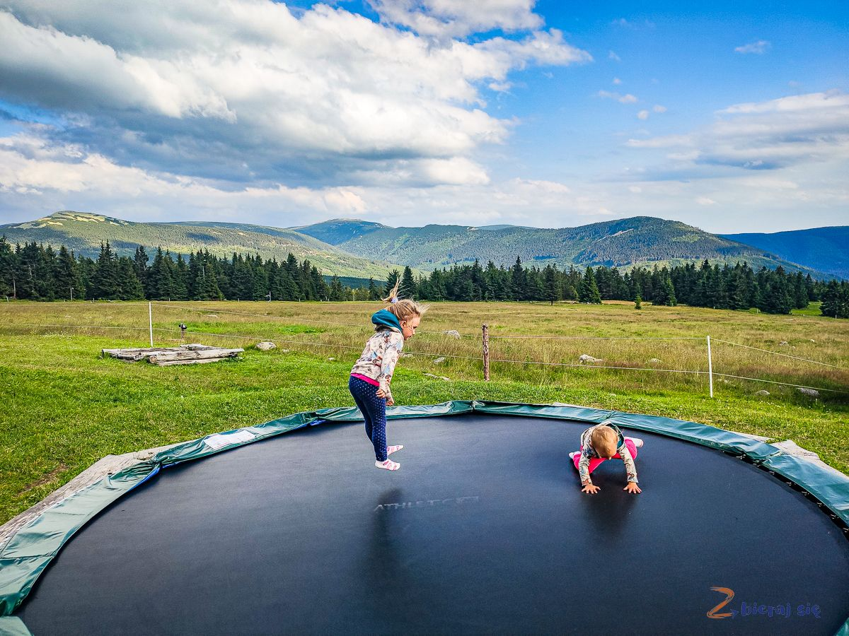 trampolina wKarkonoszach - Dvorakova Bouda
