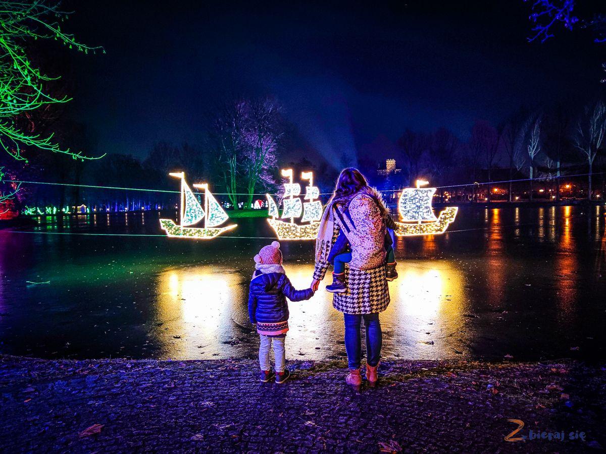 staw - Park Iluminacji wZamku Topacz