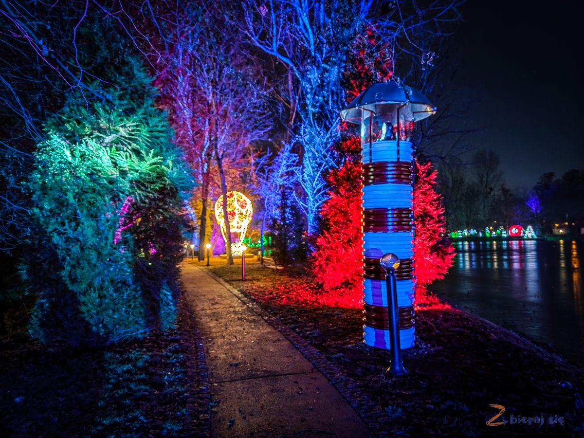 Park Iluminacji wZamku Topacz