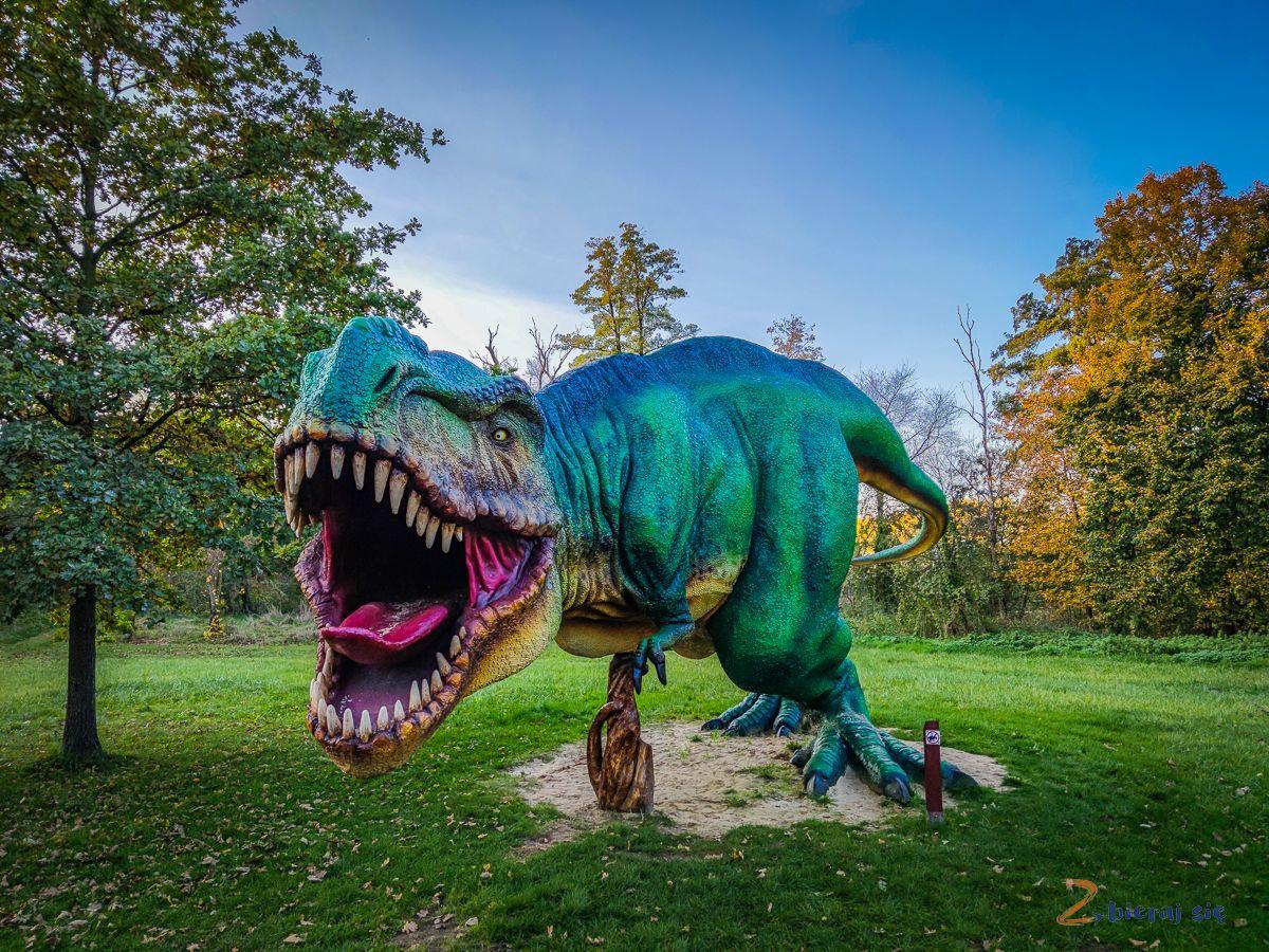 Park Wrocławski wLubinie - Park Dinozaurów wLubinie
