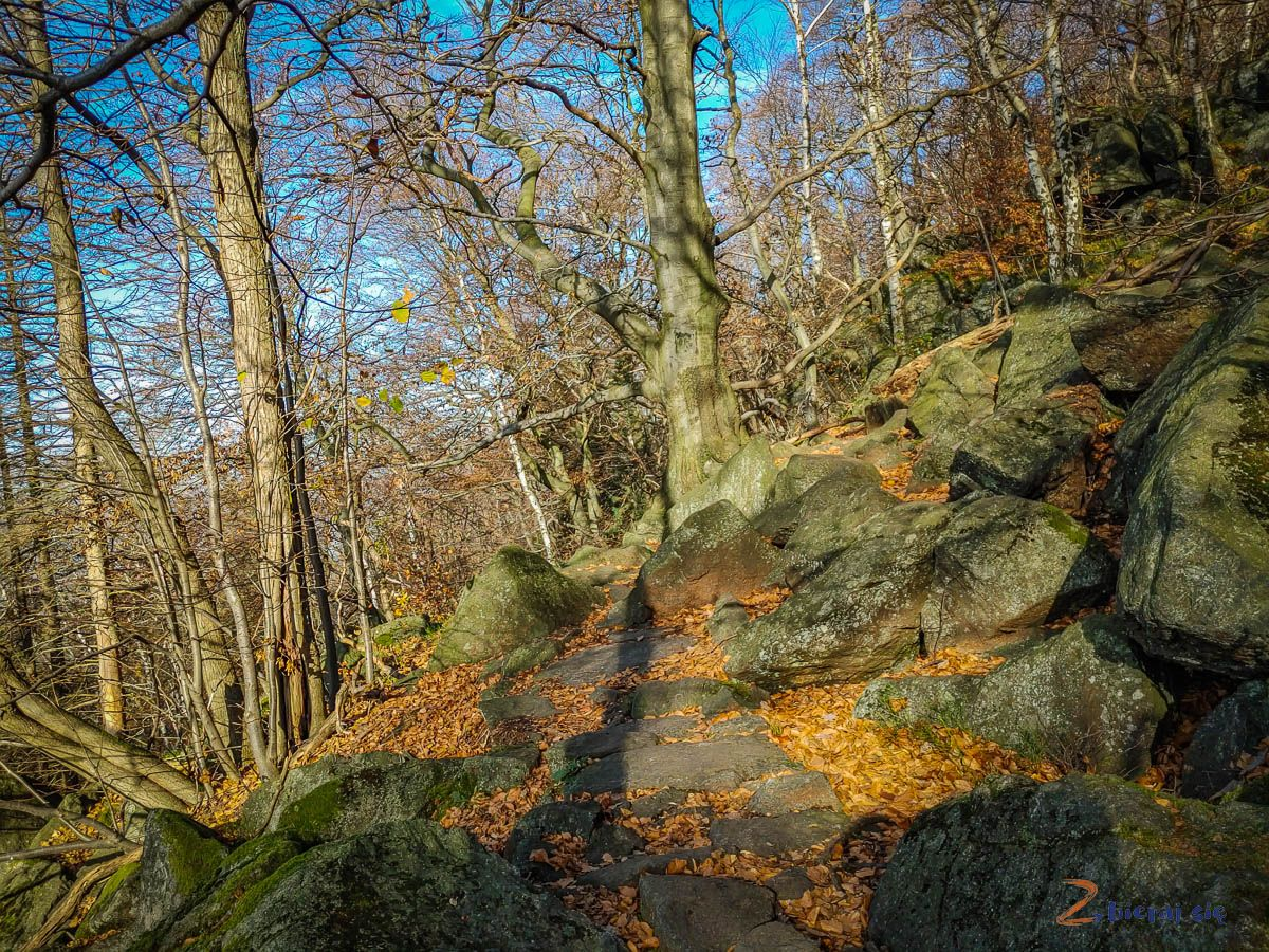 Skalna Perć - Ślężański Park Krajobrazowy