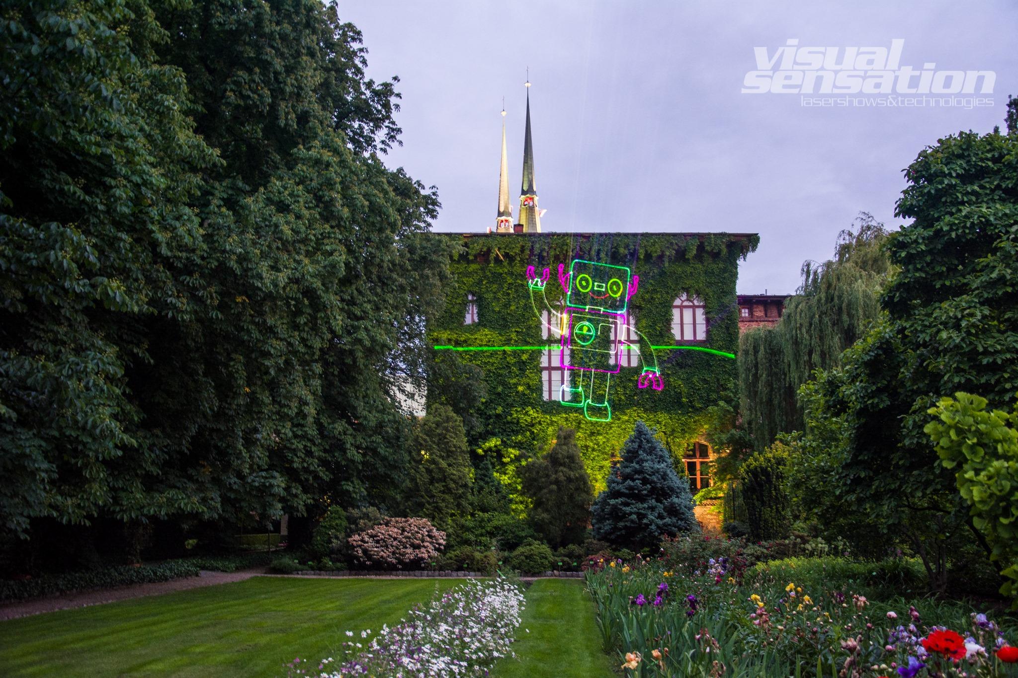 Oświetlony Ogród Botaniczny weWrocławiu, Światłogród