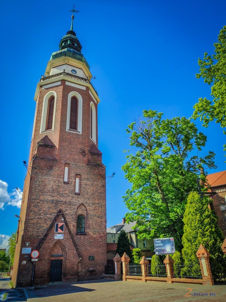 Wieża dzwonnicy wSycowie