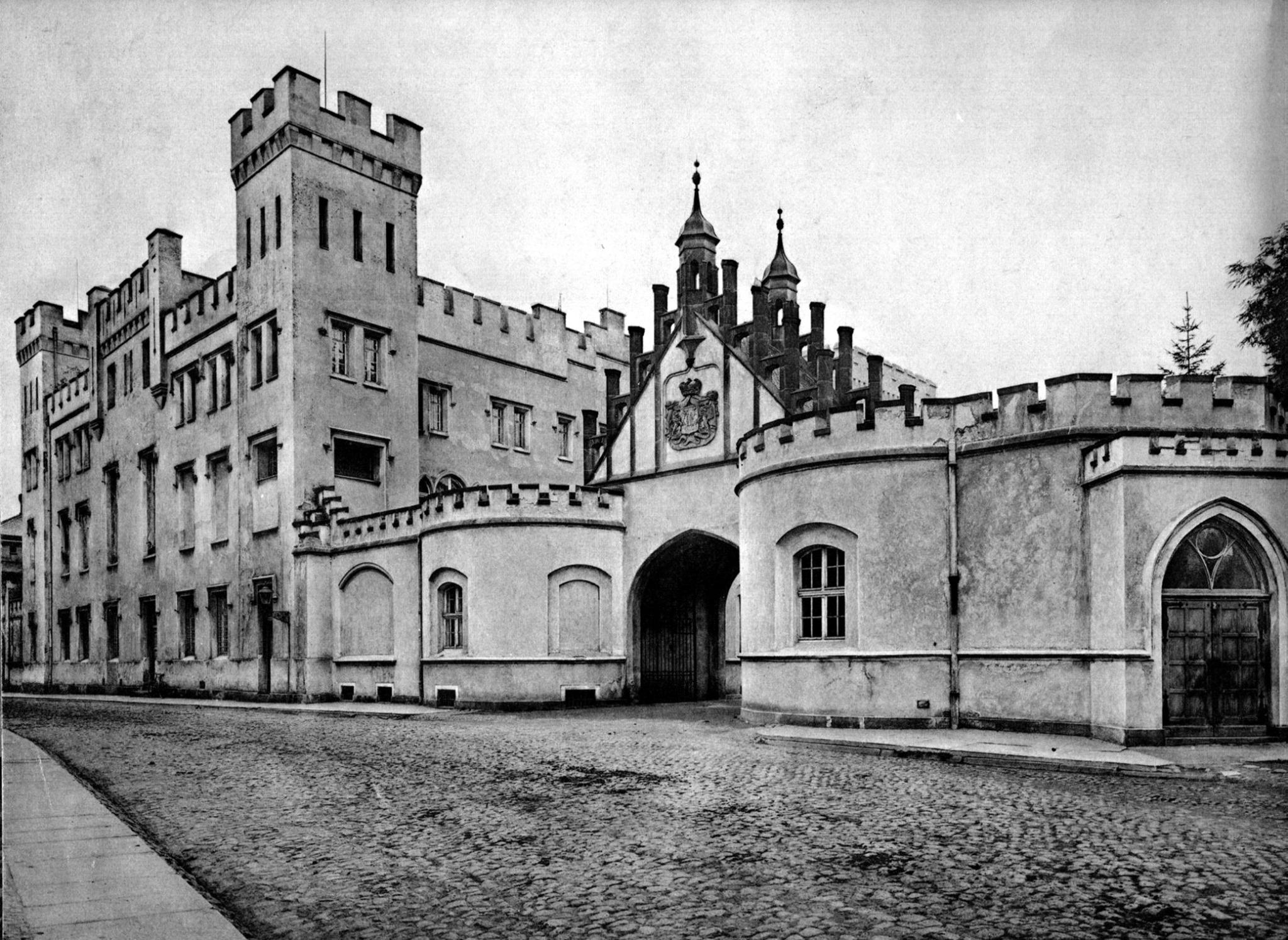 Zamek Bironów wSycowie, źródło Muzeum Regionalne wSycowie