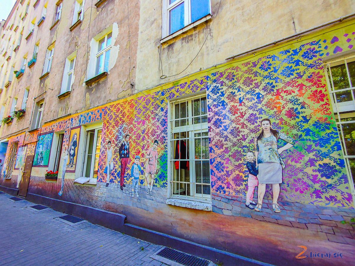 Kolorowe Podwórka naNadodrzu - co warto zobaczyć weWrocławiu