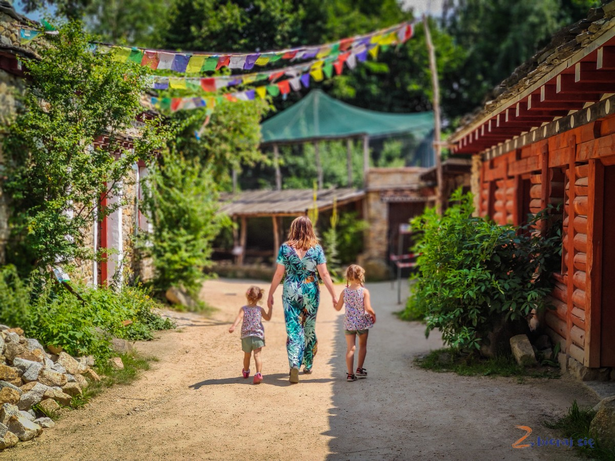 Wioska Tybetańska zoo Goerlitz