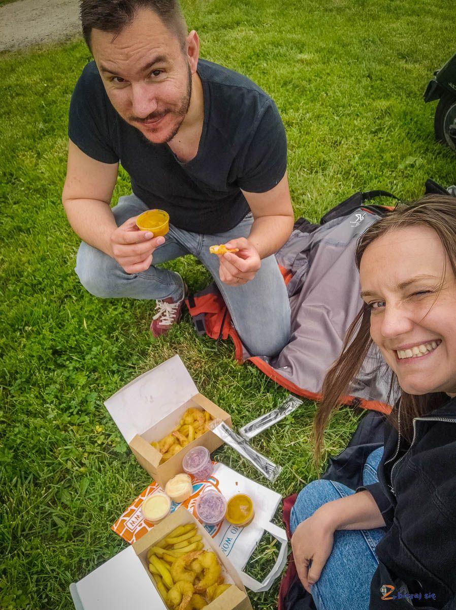 Mikrowycieczka poWrocławiu :D lunch natorze wyścigów konnych naPartynicach