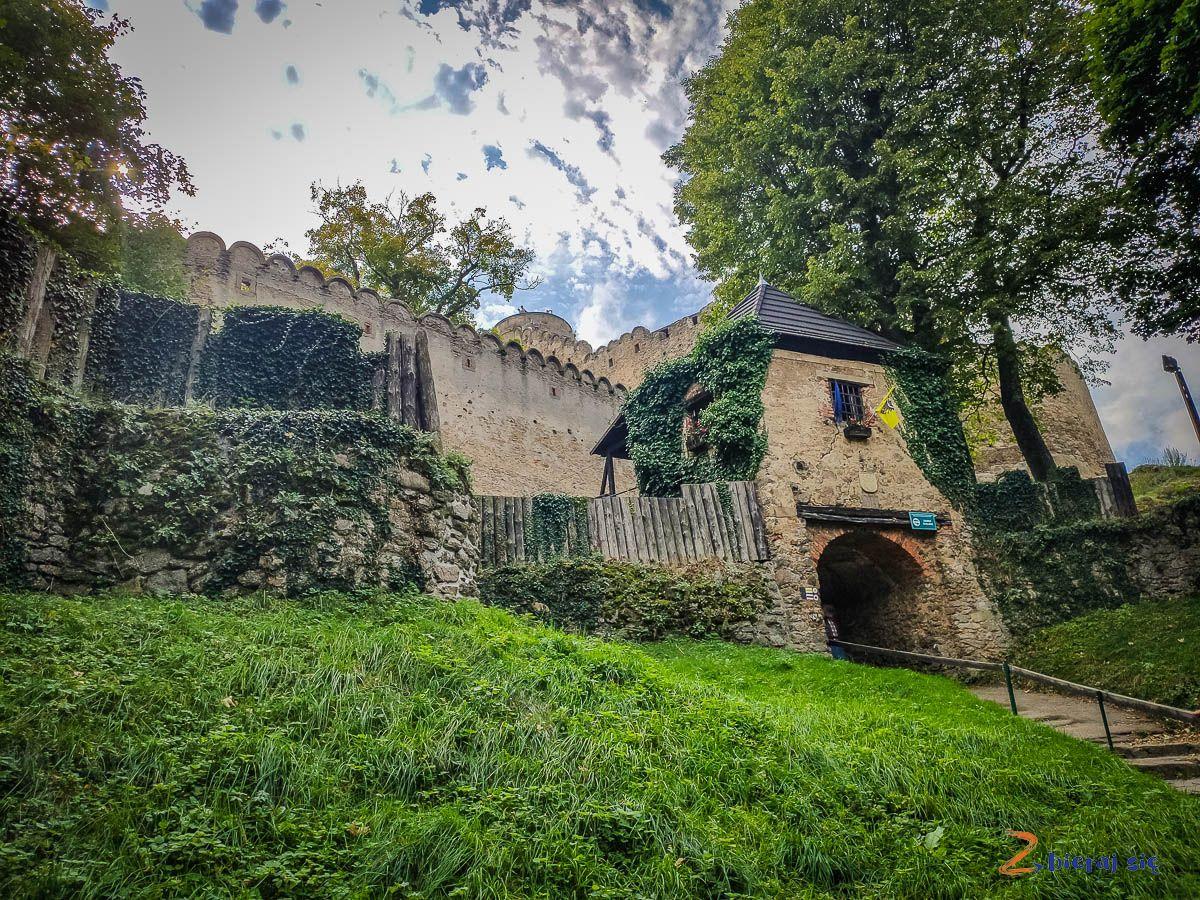 Zamek Chojnik wKarkonoszach